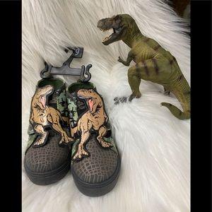 T-Rex Toddler HighTop Shoes